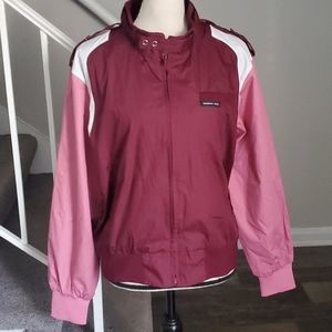 Vintage Iconic Members Only Color Block Jacket